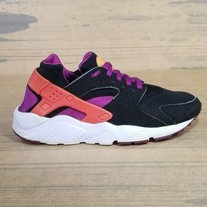 Nike Huarache Run GS Black Purple